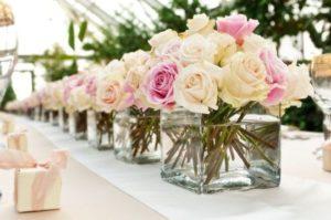 живые цветы в вазах фото