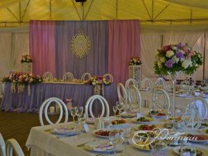 розовый и голубой для свадьбы