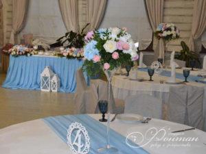 голубые цвета для свадьбы фото