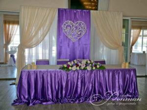 свадьба в фиолетовых тонах фото