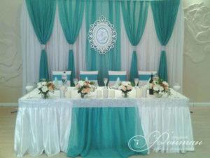 Свадьба в голубом цвете фото
