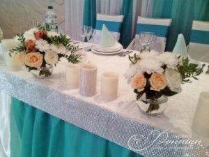 свадьба в голубых тонах фото