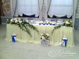 Свадьба в желто-голубых тонах фото