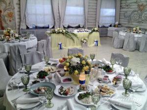 Свадебный стол фото
