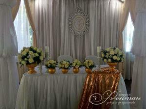 свадьба в золотом цвете фото