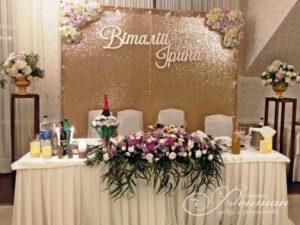 Розовые и белые цветы на свадьбу фото
