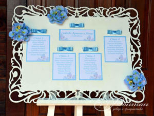 пример рассадки гостей на свадьбу фото