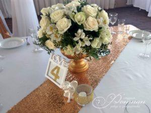 цветы на стол гостей свадьба фото