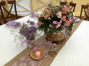 цветы для свадебных столов фото