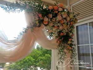 цветочный декор свадьбы фото