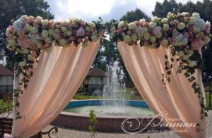 свадьба в персиковых тонах фото
