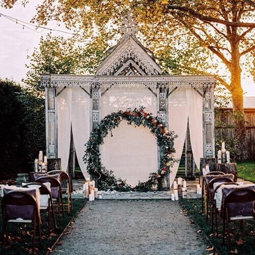 выездная церемония фонтан свадеб фото