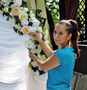 анастасия бабий флорист декоратор фото