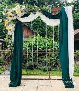 свадебная арка деревянная